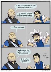 Medic Comic pg 3 by SmellenJR