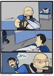 Medic Comic pg 1 by SmellenJR