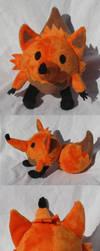 Miss Fox Plush by SmellenJR