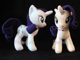 rarity plush by KylieDracani