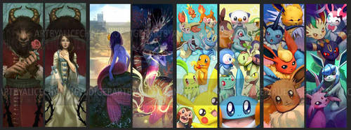 Bookmarks 2015 by Alicechan