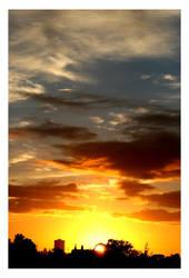 Sunrise over Sydney city by lil-ducky