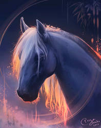 ...a horse, I guess by PegaNeko