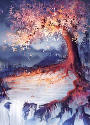 The Tree of Magic by PegaNeko