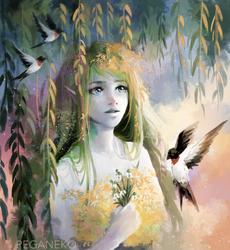 COMM - Belle (2) by PegaNeko