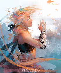 Inner peace by Pegaite