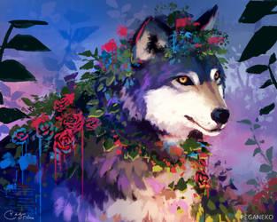 Wolf by PegaNeko