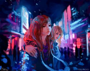 Loneliness by PegaNeko