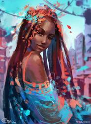 Turquoise by PegaNeko