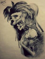 Dark Lady by DoCzekaj