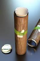 3D Tea package design by lunatis