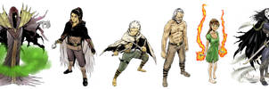 Mythos Main Characters by Mangatellers