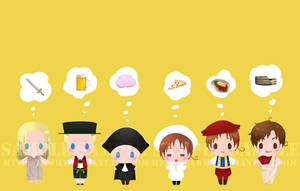 APH - card sticker set 4 by exwhy