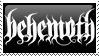 Behemoth Stamp by ScarsOfFreedom
