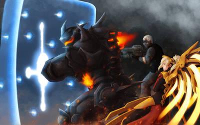 Overwatch fanart by TaruHanako