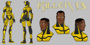 ''KILLER 13'' - Concept Art by Remortal