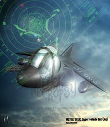 Super Vehicle 001 - The Jet by Metal-Slug-fanatics