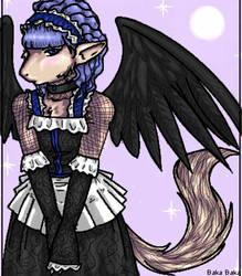 Gothic Lolita Fur by PoliteYetPeculiar