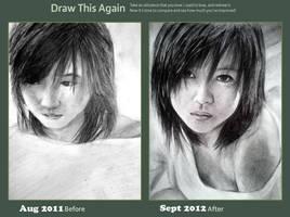 Draw this again - Horikita Maki by tin-aw