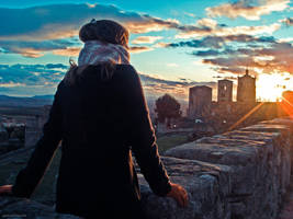 De Mis Viajes - Puesta De Sol by carbajo