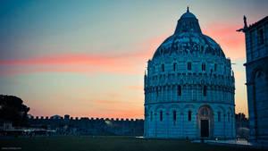 Italia 2009 - Atardecer en Pisa by carbajo