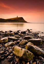 Kimmeridge Bay At Dawn by DavidCraigEllis