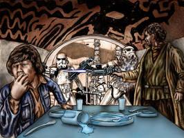 Spilled Blue Milk by siebo7