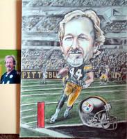 Pittsburgh Steelers Fan Caricature by siebo7