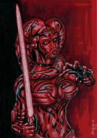 Darth Talon of Star Wars Legacy by siebo7