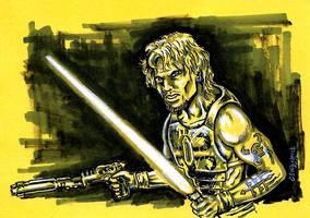 Cade Skywalker of Star Wars Legacy by siebo7