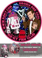R2-KT and Dr. Who Team-up for St. Jude's by siebo7