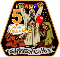 Rebel Legion's The Wretched Hive 5 Yr Logo/Patch by siebo7