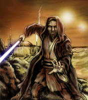 Ben Kenobi: Crazy Old Hermit by siebo7