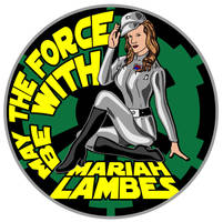 501st Legion Pin-up Style Patch by siebo7