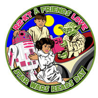 R2-KT and Friends Love Star Wars Reads Day by siebo7