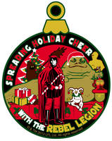 Lucasfilm approved Rebel Legion Charity Patch by siebo7