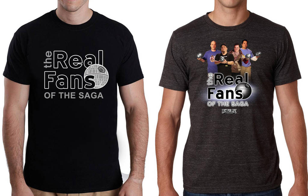 The Real Fans of the Saga - t-shirt designs by siebo7