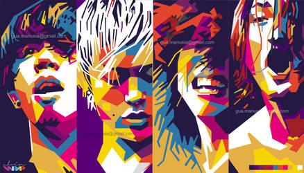 ONE OK ROCK by vinartvin