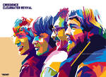 Creedence Clearwater Revival by vinartvin