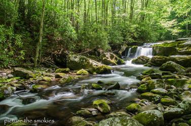 Mountain Cascade by violakat03