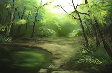 Forest by AnnaShell