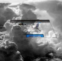 Dans les nuages I by Apolonis