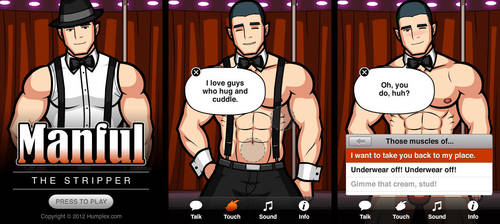 Manful: The Stripper by humbuged