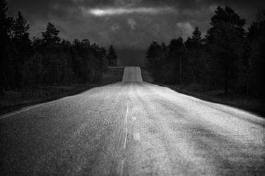 100913 - Finland - Road 93. by StephanePellennec