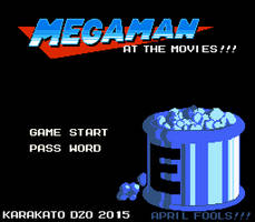 Mega Man at the Movies (Title Screen) by KarakatoDzo