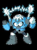 Volt Man (Mega Man Y+1) by KarakatoDzo