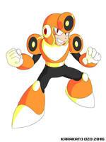 Blast Man (Mega Man Revolution) by KarakatoDzo