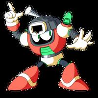 Switch Man (Mega Man Shattered Diamond) by KarakatoDzo