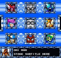 Mega Man SG Stage Select Concept by KarakatoDzo