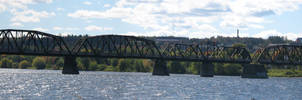 Fredericton Panorama by darwin2kx